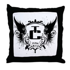 Team Cullen Throw Pillow