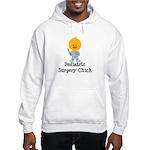 Pediatric Surgery Chick Hooded Sweatshirt