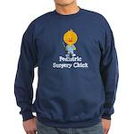 Pediatric Surgery Chick Sweatshirt (dark)