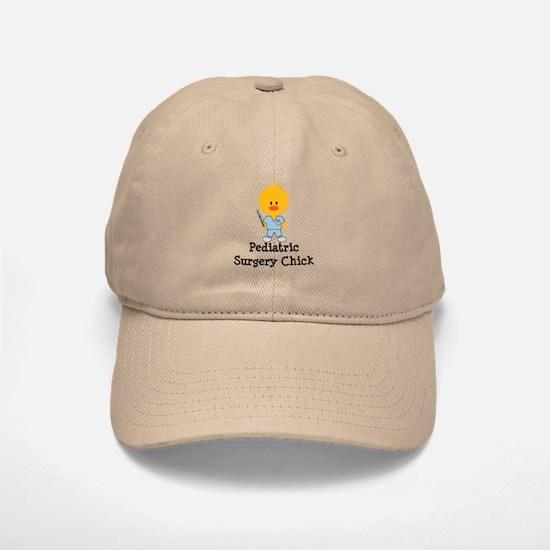 Pediatric Surgery Chick Baseball Baseball Cap