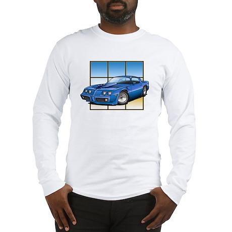 79-81 Trans Am Blue Long Sleeve T-Shirt