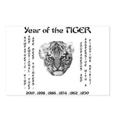 2010 - Year of the Tiger Postcards (Package of 8)