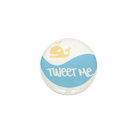 Tweet Me Mini Button (10 pack)