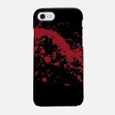 splatter-black_allover-f.png iPhone 7 Tough Case