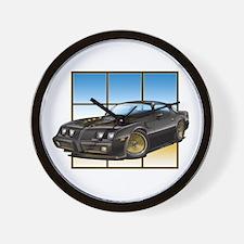 79-81 SE Bandit TA Wall Clock