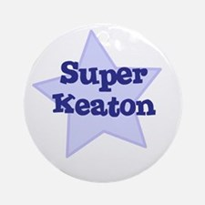 Super Keaton Ornament (Round)
