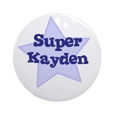 Super Kayden Ornament (Round)