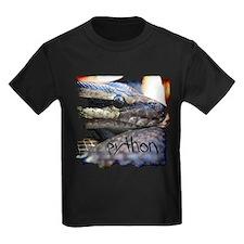 shirt-ball-python-grunge01b T-Shirt