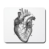 Anatomical heart Mouse Pads