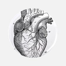 "Cute Heart 3.5"" Button (100 pack)"