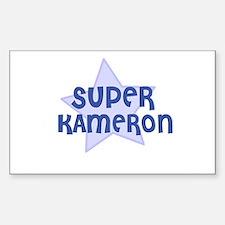 Super Kameron Rectangle Decal