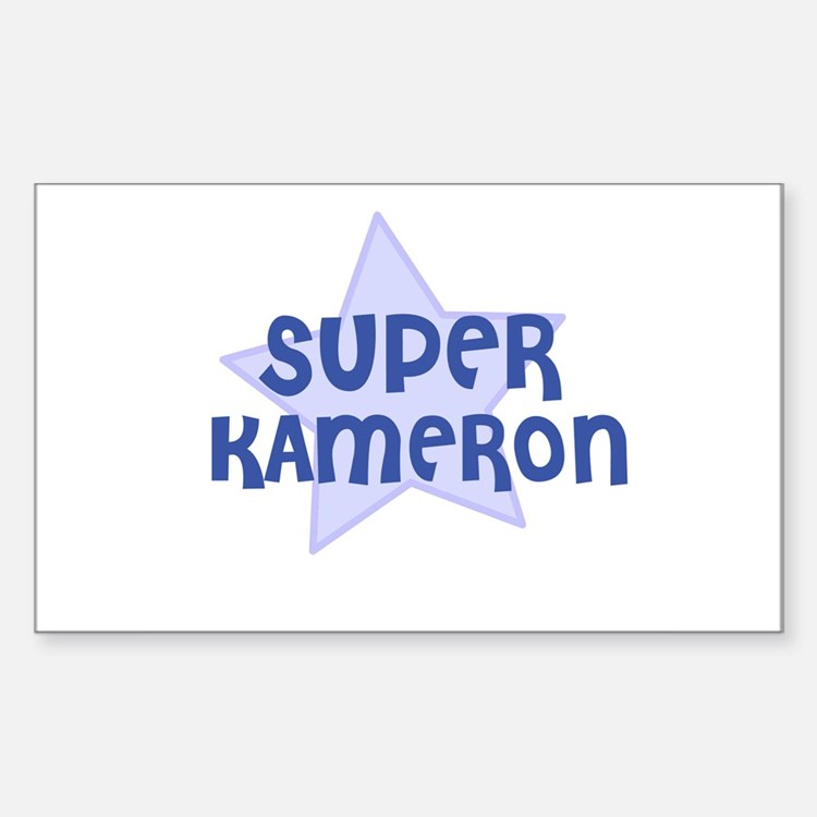 Super Kameron Rectangle Decal