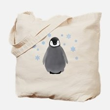 Holiday Penguin Tote Bag