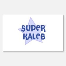 Super Kaleb Rectangle Decal