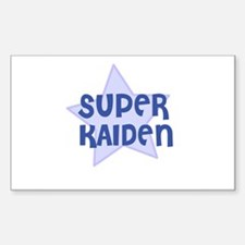 Super Kaiden Rectangle Decal