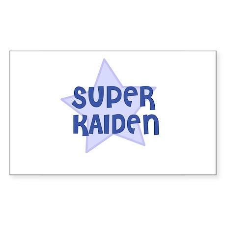 Super Kaiden Rectangle Sticker