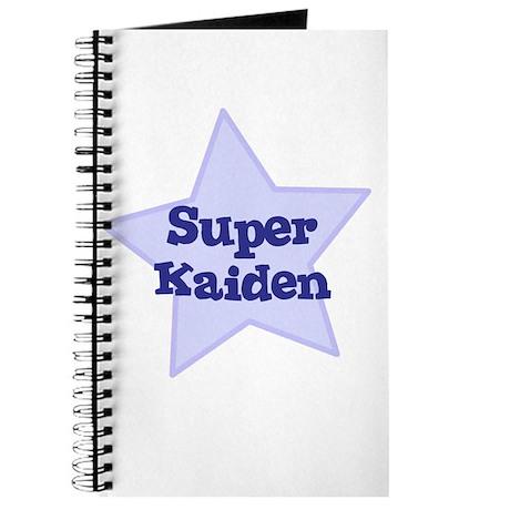 Super Kaiden Journal