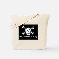 Unique Soccer skull Tote Bag