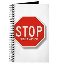 Stop Snitchin' Journal