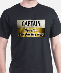 Houston Beer Drinking Team T-Shirt