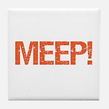 Meep Tile Coaster