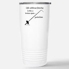 Pointless Stainless Steel Travel Mug