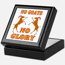 No Goats No Glory Keepsake Box