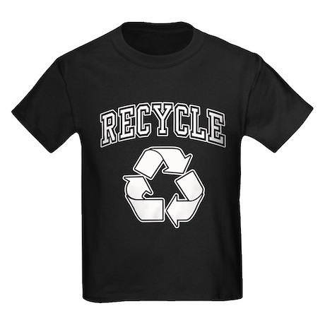 Recycle Logo Kids Dark T-Shirt