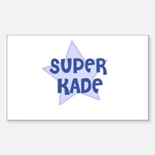 Super Kade Rectangle Decal