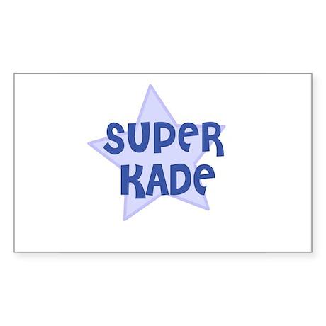 Super Kade Rectangle Sticker