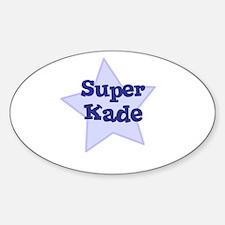 Super Kade Oval Decal