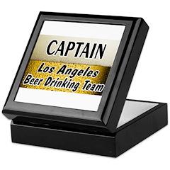 LA Beer Drinking Team Keepsake Box