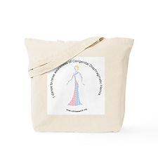I Dance To Raise CDH Awareness Tote Bag