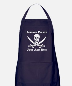 Classic Instant Pirate Apron (dark)