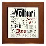 The Volturi Framed Tile