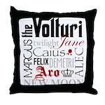 The Volturi Throw Pillow