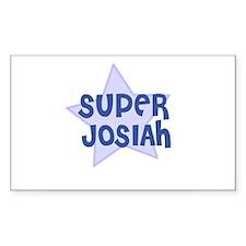 Super Josiah Rectangle Decal