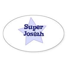 Super Josiah Oval Decal