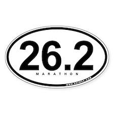 26.2 Marathon Oval Sticker (10 pk)