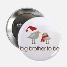 """birdie big brother t-shirts christmas 2.25"""" Button"""