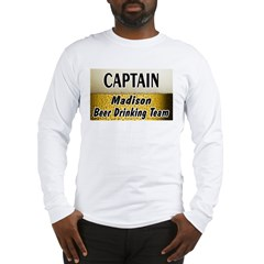 Madison Beer Drinking Team Long Sleeve T-Shirt