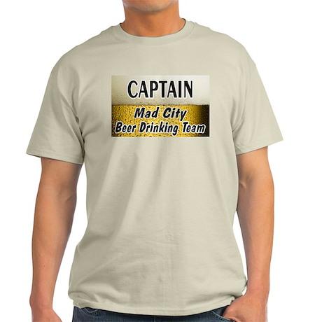 Mad City Beer Drinking Team Light T-Shirt