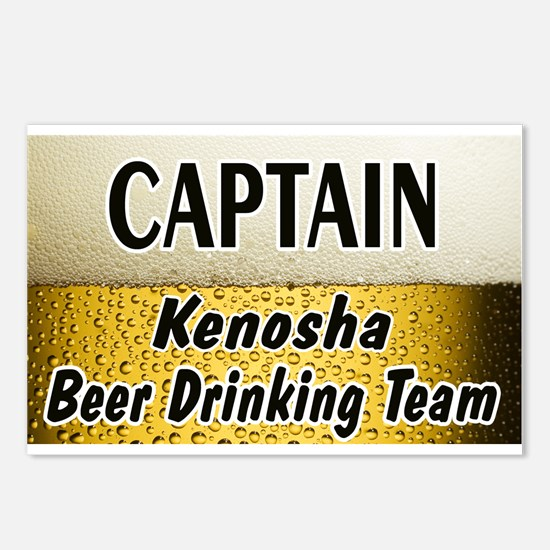 Kenosha Beer Drinking Team Postcards (Package of 8