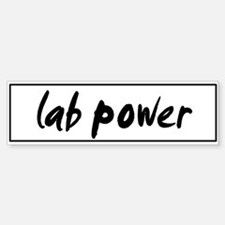 Lab POWER Bumper Bumper Bumper Sticker