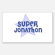 Super Jonathon Rectangle Decal