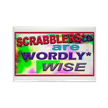 WORDLY WISE Rectangle Magnet (10 pack)