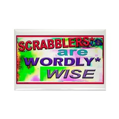 WORDLY WISE Rectangle Magnet