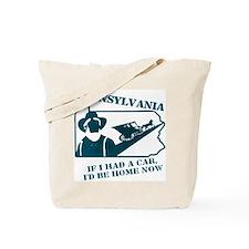 Vintage Pennsylvania Tote Bag