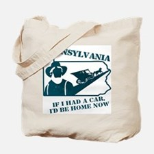 Vintage Pennsylvania Tote Bag