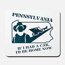 Vintage Pennsylvania Mousepad